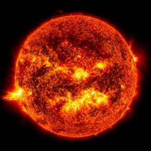 太陽がミニマム化している