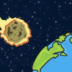 6月24日小惑星が地球を通過