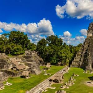 古代都市マヤ ティカルの貯水システム