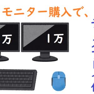 予算1万円で買えるしっかりとしたモニターが欲しい!デュアルモニター運用で快適にブログが書けます!