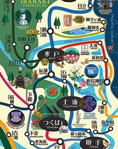 【販売再開】路線図 ポストカード + マップ (茨城県) (+その他カードの在庫復活のお知らせ)