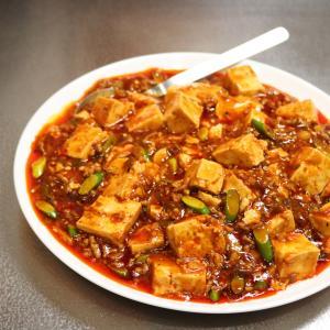 【簡単】誰でも家庭でシビレる本格「にんにく増し増し旨辛麻婆豆腐」⑤ステップ