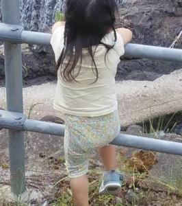 2歳児 鮎釣り英才教育