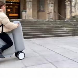 空気で膨らむ電動バイク「Poimo」がすごい!東大が開発!