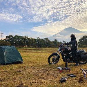 富士山キャンプランド(富士ミルクランド)にバイクで泊まってみた