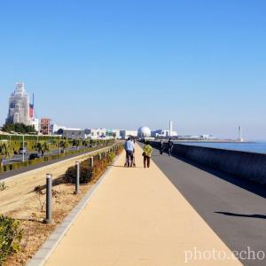 舞浜 海岸遊歩道 晴天