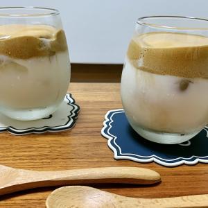 【ダルゴナコーヒー】流行りのコーヒーを作ってみた!ハンドミキサー無しでも大丈夫!レシピも!【手作りおやつ】