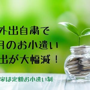 【共働き】外出自粛の影響で4月のお小遣い支出が大幅減!【お小遣い制】