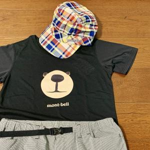 【モンベル】可愛いモンタベアTシャツとキャップをゲット【横浜ベイサイドアウトレット購入品】
