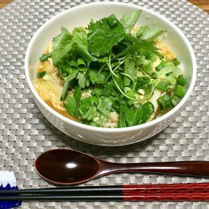 【KALDI】酸辣湯(サンラータン)が簡単なのに本格的な味で美味しすぎ!何度もリピ買い♡【食レポ・レシピ・カロリー】