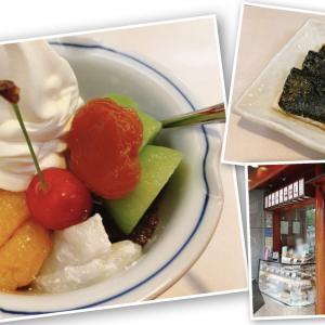【みはし】久々にフルーツたっぷり絶品フルーツクリームあんみつを食べてきた!【上野本店】
