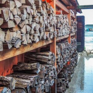 薪棚を作ってみたい