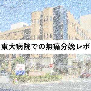 東大病院の出産レポ~バースプラン編~