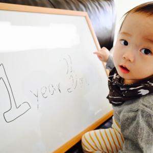 1歳3ヶ月に。