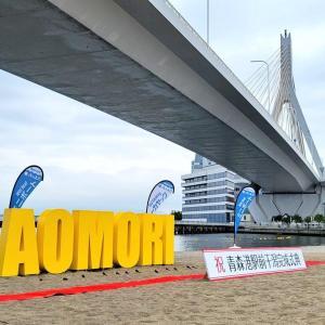 【画像】青森さん、青森駅前にビーチをつくってしまう  [228348493]
