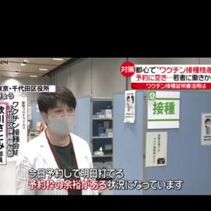 東京都「ワクチン余りまくってる区」と「ワクチン足りない区」で大きな格差  [902666507]