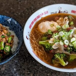 【男のズボラ飯】しょっぱくて飲めなかった台湾ラーメンのスープを取っておいて、次の日に再挑戦してみた!