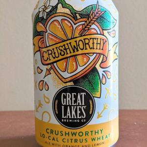 【ビール】GREAT LAKES BREWING CO - CRUSHWORTHY LO-CAL CITRUS WHEAT