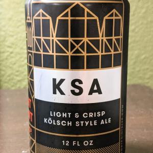 【ビール】FORT POINT BEER CO. - KSA LIGHT & CRISP KÖLSCH STYLE ALE