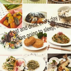 夜寝る前に食べると太る?