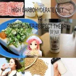 HIGH CARBOHYDERATE DIET VS PROTEIN OVER-RESPECT  THEORY
