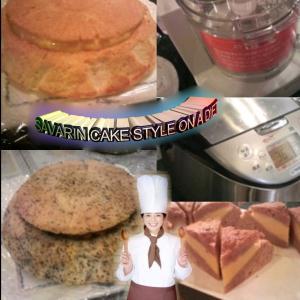 電気釜で作る太らないサバラン風のケーキ
