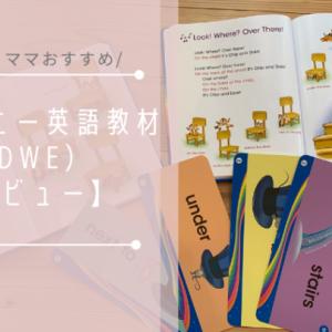 【レビュー】ディズニー英語教材(DWE)を使うようになった理由と使った感想