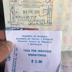 サンサルバドルからホンジュラスに陸路移動で国境越え