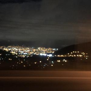 コパンルイナスから首都テグシガルパに移動