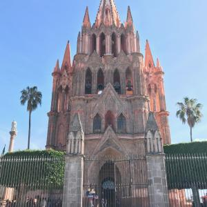 メキシコシティからサンミゲルアジェンデに移動