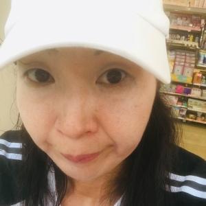ウォーキング中〜(*ノω<*) アチャー