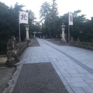 ジョギング中〜ε=(/*~▽)/