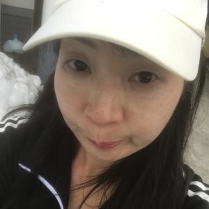 今年初の外をジョギング中〜〜(((((((っ´Ι`)ノ