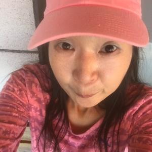 ジョギングして休憩中です( ´・ω・`)_且~~ イカガ?