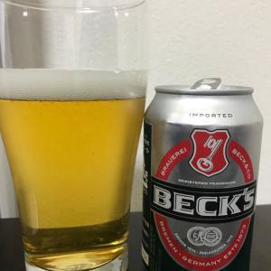 No.734 ベックス(缶入り)(★×3 ドイツビールの中では飲みやすくコスパもいい。)