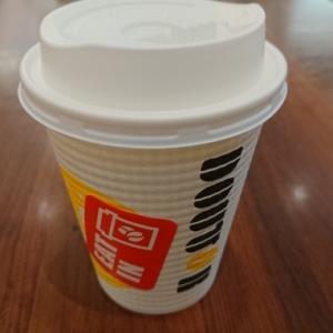 出勤前のドトールコーヒー