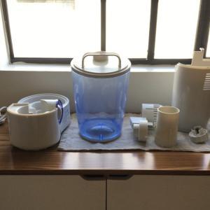 アメリカで必須の加湿器 カルキ掃除の仕方