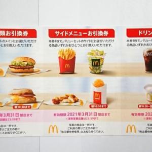日本マクドナルドホールディングス(2702)の株主優待|優待食事券