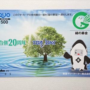 東亜ディーケーケー(6848)の株主優待|QUOカード