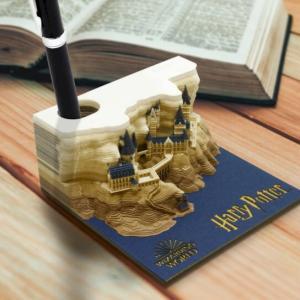 まるで魔術で作られたようなブロックメモ「Harry Potter - OMOSHIROI BLOCK 『ホグワーツ城 』」