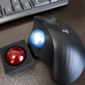 トラックボールマウス「ロジクールM575」のトラックボールを交換してみた