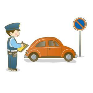借りた車で駐車違反切符を切られたらどうするべき?