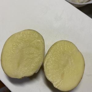 秋ジャガイモでポテトサラダを作りました