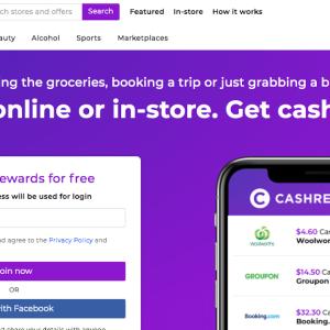 オーストラリアでお得に過ごす?キャッシュバックサイト「cashrewards」!!