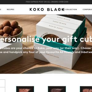 【オーストラリアでのプレゼントに最適!】KOKO BLACK(ココブラック)のパーソナルギフトキューブはいかが?