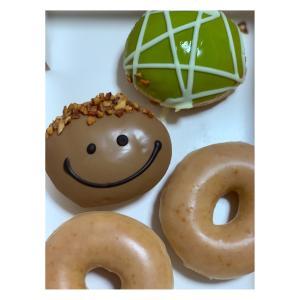 krispy kreme doughnuts #クリスピークリームドーナツ #東京ソラマチ店  #パパカスタード #240円  #メロンクリーム #250円  #ドーナツデークーポン #0円  計#529円   #krispykremedoughnuts  #0366584710 #パパの日