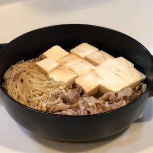 肉豆腐&きんぴら