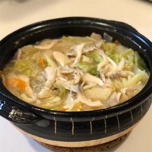 豚キャベ味噌鍋