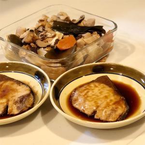 ぶり照り焼き&大根の煮物