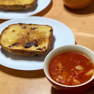 ぶどうパン&あったかスープ